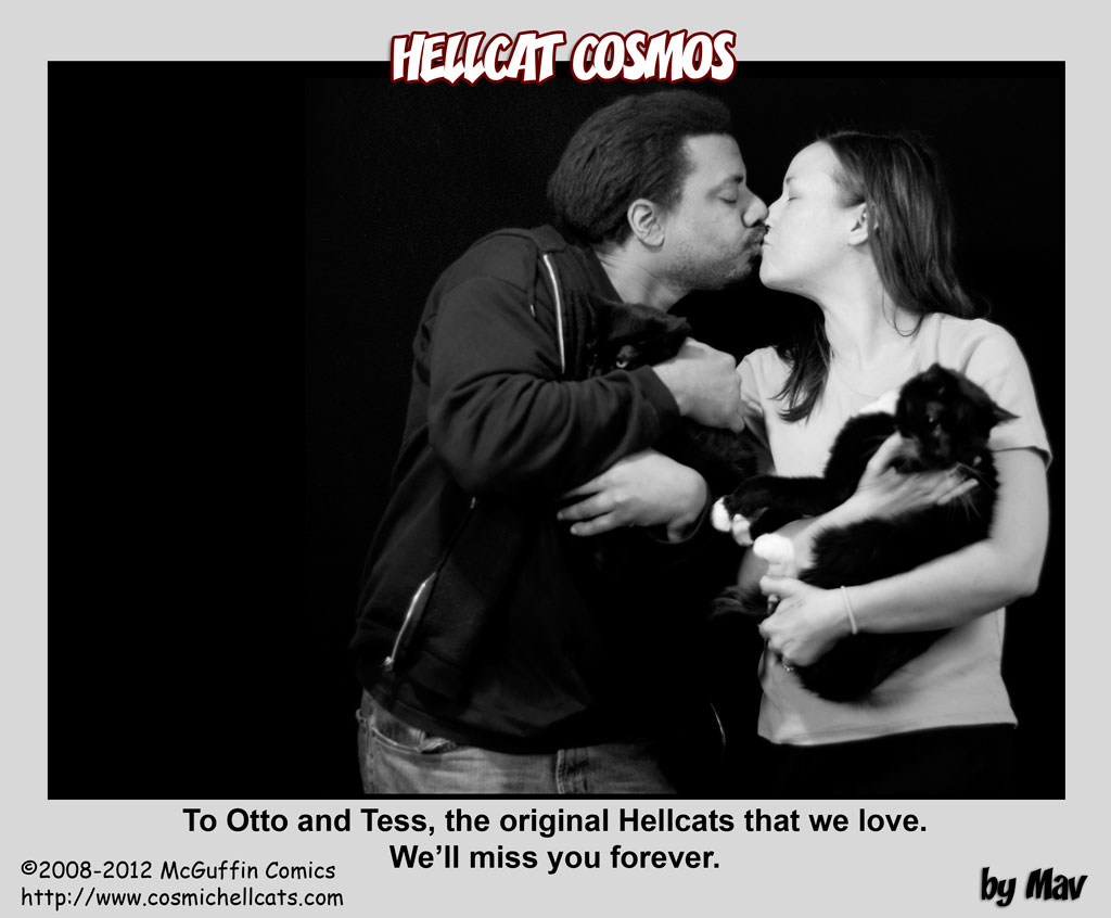 In memorium: Otto and Tess